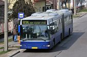 Bus At Budapest