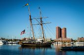 Sailing Ship Inner Harbor