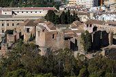 Citadel ruins, Malaga.