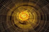 Rotating Ferris Wheel Motion Blur