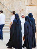 Nuns Walking Down The Street