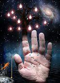 Постер, плакат: Рука