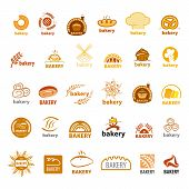 Biggest Collection Of Vector Icons Bakery
