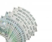 100 PLN Notes - Polish banknotes