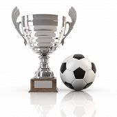 Soccer Ball and Goblet