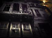 Spooky Wooden Building