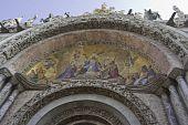 Facade of St Mark's Basilica in Venice