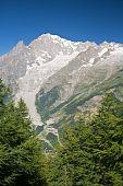 Mont Blanc - Vertical Composition