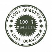 Percent Quality Stamp