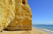Vale Do Olival Beach on the Algarve in Portugal