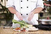 picture of noodles  - Chef prepared cooking with noodle ingredient  - JPG
