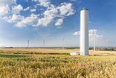 Collapsed Wind Turbine