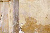 ancient wall detail