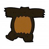 cartoon headless teddy bear