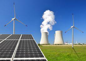 stock photo of reactor  - solar panel - JPG