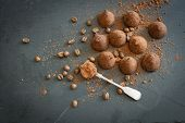 image of truffle  - chocolate truffles as a gift sweet temptation woman he loves - JPG