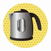 image of thermos  - Home Appliances Theme Electric Thermos Elements - JPG