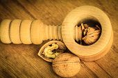 foto of nutcracker  - Healthy food full of omega - JPG
