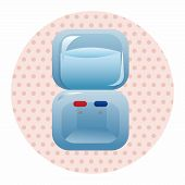pic of dispenser  - Home Appliances Theme Dispenser Elements - JPG