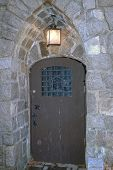 Tür In Burgmauer