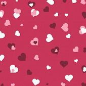 Background Valentine Heart Scatter