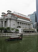 The Fullerton Hotel in Singapore