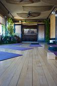 Yoga Studio Mats Entrance