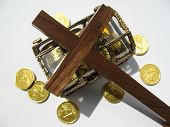 pic of tithe  - Money tithe to be used for the Kingdom of God - JPG