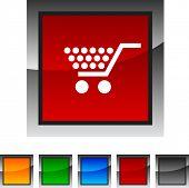 Conjunto de iconos comerciales. Ilustración del vector.