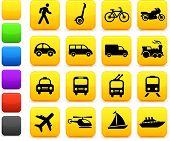 Original vector illustration: Transportation icons design elements