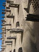 Mud Brick Mosque In Tongorongo (mali).