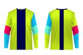 Template Design Fo Extreme Sports. Jersey For Motocross, Extreme Cycling, Downhill, Ski Jumping. Sub poster