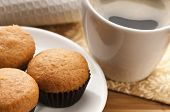 Coffee And Cinnamon Muffins