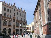 St Mary'S Square, Krakow, Poland.