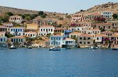 Halki island architecture