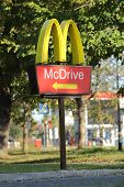 McDrive sign
