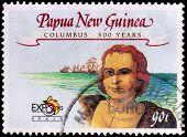 A 90-toea Stamp Printed In Papua New Guinea