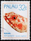 A 32-cent Stamp Printed In Palau