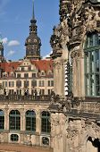 zwinger and castle, dresden