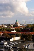 View Of Potsdam, Germany, With The Garnisionskirche (garrison Church) In The Center (portrait)
