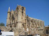Northern Cyprus. Lala Mustafa Pasha mosque.