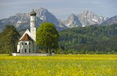 church in bavaria, germany