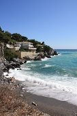 Playa Cala retrato