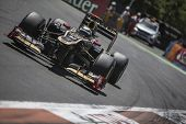 VALENCIA, SPAIN - JUNE 24: Kimi Raikkonen in the Formula 1 Grand Prix of Europe, Valencia Street Cir