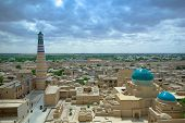 Panorama Of An Ancient City Of Khiva