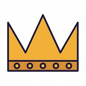 Crown Design, Royal King Queen Luxury Jewelry Kingdom Insignia Emperor Authority And Coronation Them poster