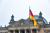 The Bundestag (federal Diet) Is The German Federal Parliament Located In Berlin, Germany poster