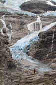 Blue Glacier in Norway