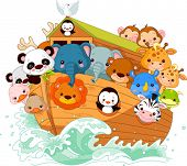 picture of bible story  - Illustration of Noah - JPG