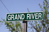 Grand River Sign